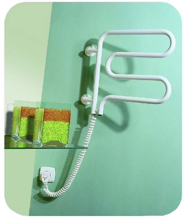 elektro elektrischer handtuchtrockner badheizk rper. Black Bedroom Furniture Sets. Home Design Ideas